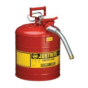 Safety Container with Nozzle