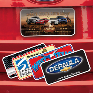 License Plate Inserts