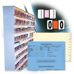 FILE RIGHT Color Code Supplies