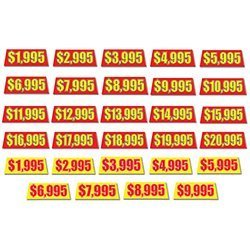 Windshield Banners - Prices